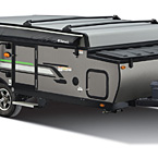 Rockwood Freedom Tent Camper Pop-Up Trailer  Exterior (closed) May Show Optional Features. Features and Options Subject to Change Without Notice.