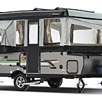 Rockwood Freedom Tent Camper Pop-Up Trailer Exterior (open) May Show Optional Features. Features and Options Subject to Change Without Notice.