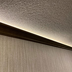 Ambient Uplighting Above Crown Molding May Show Optional Features. Features and Options Subject to Change Without Notice.