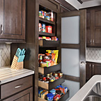 Full-size pantry