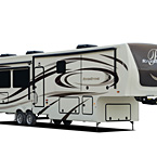 Riverstone Luxury Fifth Wheels (Standard Exterior) May Show Optional Features. Features and Options Subject to Change Without Notice.