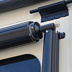 Awning Shield May Show Optional Features. Features and Options Subject to Change Without Notice.