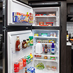 12V Residential Refrigerators 10 cu ft, bigger is better and no more LP expense	 May Show Optional Features. Features and Options Subject to Change Without Notice.
