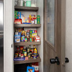 Storage is maximized in the 40FDEN with the XL pantry May Show Optional Features. Features and Options Subject to Change Without Notice.