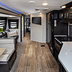 Cherokee Travel Trailers  - 294GEBG Black Label Shown May Show Optional Features. Features and Options Subject to Change Without Notice.