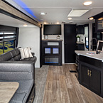 Cherokee Travel Trailers - 324TS Shown May Show Optional Features. Features and Options Subject to Change Without Notice.