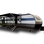 Cherokee Travel Trailers May Show Optional Features. Features and Options Subject to Change Without Notice.