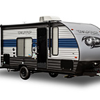 Cherokee Wolf Pup Travel Trailer May Show Optional Features. Features and Options Subject to Change Without Notice.