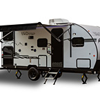 Cherokee Wolf Pup Travel Trailer (Black Label) May Show Optional Features. Features and Options Subject to Change Without Notice.