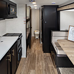 Cherokee Wolf Pup Travel Trailer - 17JG Black Label Shown May Show Optional Features. Features and Options Subject to Change Without Notice.