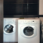 Optional side-by-side washer and dryer May Show Optional Features. Features and Options Subject to Change Without Notice.