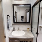 353FLFB bathroom sink and mirror May Show Optional Features. Features and Options Subject to Change Without Notice.