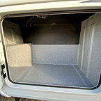 Exterior Storage May Show Optional Features. Features and Options Subject to Change Without Notice.
