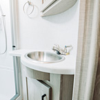 Bathroom Interior May Show Optional Features. Features and Options Subject to Change Without Notice.