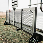 Optional Flip Down Storage Rack May Show Optional Features. Features and Options Subject to Change Without Notice.