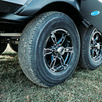 Torsion Flex Axles with Goodyear Tires May Show Optional Features. Features and Options Subject to Change Without Notice.