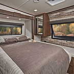 The 2513 offers the most spacious bedroom and storage. May Show Optional Features. Features and Options Subject to Change Without Notice.