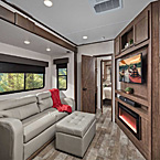 The 3412 has FOUR living areas…bedroom, living room, rear living,