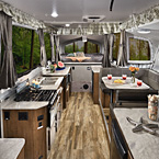 Flagstaff High Wall Tent Camper Interior May Show Optional Features. Features and Options Subject to Change Without Notice.