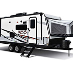 Rockwood Roo Hybrid Travel Trailer Exterior (Open) May Show Optional Features. Features and Options Subject to Change Without Notice.