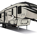 Rockwood Signature Fifth Wheel Exterior (Standard Champagne Exterior) May Show Optional Features. Features and Options Subject to Change Without Notice.