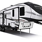 Rockwood Signature Fifth Wheel Exterior (Optional White Exterior) May Show Optional Features. Features and Options Subject to Change Without Notice.