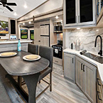 Rockwood Signature Fifth Wheel Interior May Show Optional Features. Features and Options Subject to Change Without Notice.