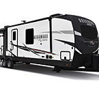 Rockwood Signature Travel Trailer Exterior (Optional White Exterior) May Show Optional Features. Features and Options Subject to Change Without Notice.