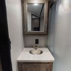 Bathroom vanity May Show Optional Features. Features and Options Subject to Change Without Notice.