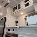 Kitchen sink and overhead cabinet May Show Optional Features. Features and Options Subject to Change Without Notice.