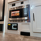 Convection Oven and Central Vacuum May Show Optional Features. Features and Options Subject to Change Without Notice.