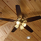 Ceiling Fan w/ Light Kit May Show Optional Features. Features and Options Subject to Change Without Notice.