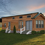 America's Park Cabins Lodge Series May Show Optional Features. Features and Options Subject to Change Without Notice.