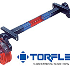 Dexter Torflex Axles May Show Optional Features. Features and Options Subject to Change Without Notice.