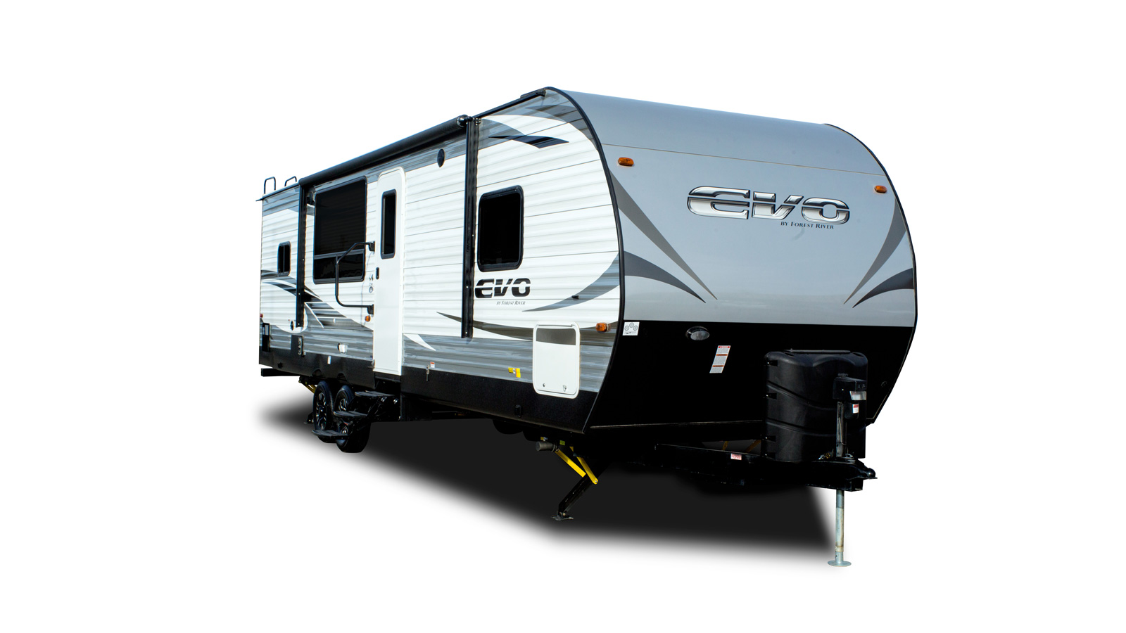 Evo Travel Trailers By Forest River Rv Power Supply Schematics Interior And Exterior