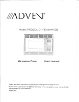 Hamilton Beach Advent® Microwave Oven