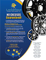 LionsHead Wheels & Tires Flyer