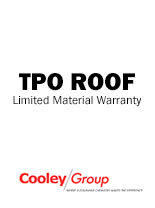 TPO Roof Limited Material Warranty