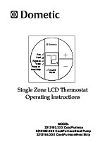 Dometic Single Zone LCD Thermostat