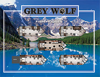 Grey Wolf Fish House Flyer