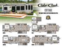 Astonishing Cedar Creek Cottage Forest River Rv Manufacturer Of Download Free Architecture Designs Salvmadebymaigaardcom