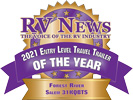 RV News 2021 Entry Level Travel Trailer of the Year - Salem 31KQBTS