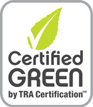 Certified Green by TRA Certification™