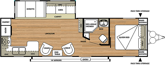 Salem 27RLSS Floorplan
