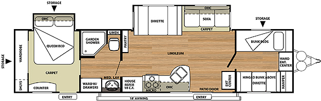 2013 Salem Floorplans Starr S Trailer Sales Brockway Pa
